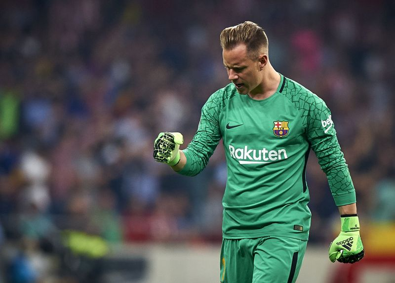 Ter Stegen was a potent force at the back last season