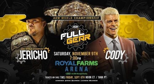 Cody is Jericho's first challenger.