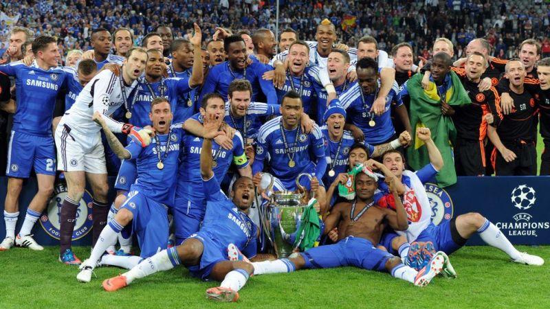 2011-12 winners Chelsea