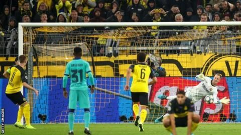 Dortmund had numerous chances to win the match