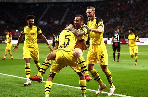 A world-class second-half performance from Dortmund helped them put four past Bayer