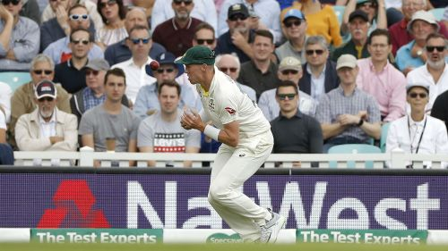 Peter Siddle dropped a simple catch in the morning session of the final Ashes Test