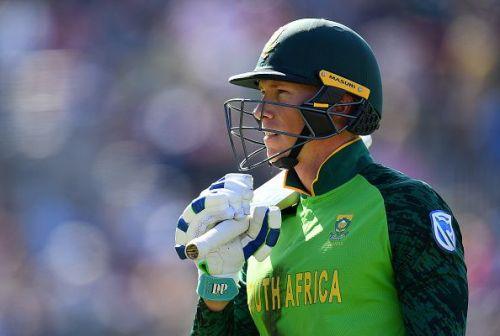 South Africa vice-captain Rassie van der Dussen.