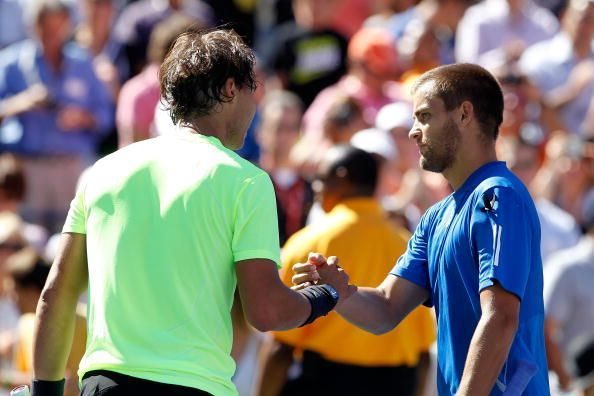 Nadal beat Youzhny to reach his first US Open final in 2010