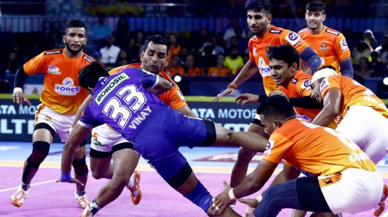 Who will win this important game? (Image Courtesy: Pro Kabaddi)