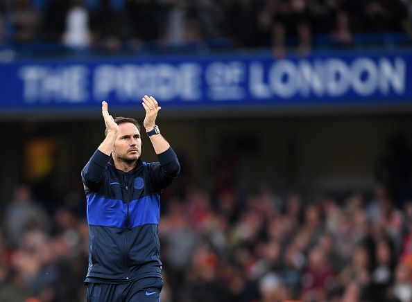 Frank Lampard bagged his first victory at Stamford Bridge in a big way