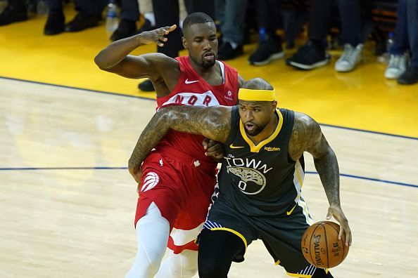 DeMarcus Cousins spent the 18-19 season with the Golden State Warriors