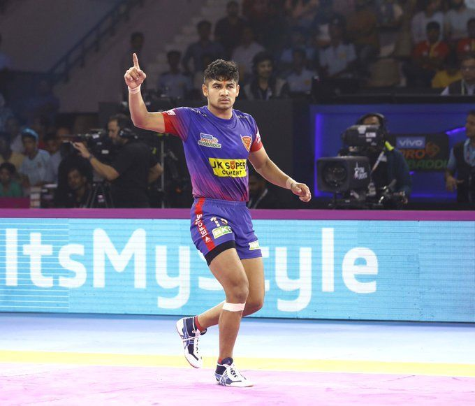 It was difficult to separate Dabang Delhi and Bengaluru Bulls on the night