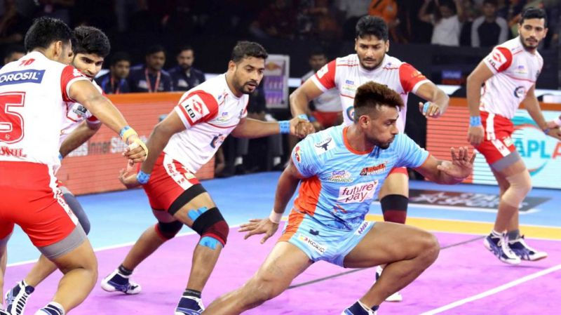 Maninder Singh was in fine form for the Warriors