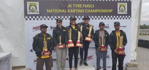 Winners of the FMSCI NRC - Sodi Class (Four Stroke)