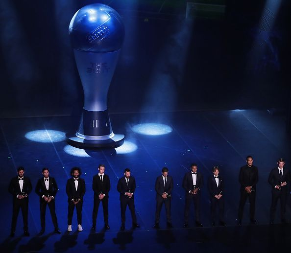 The glittering ceremony had almost all the top footballers in attendance except Ronaldo,