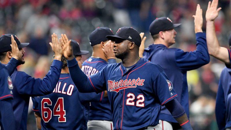 Miguel Sanó Minnesota Twins Cleveland Indians MLB 09142019