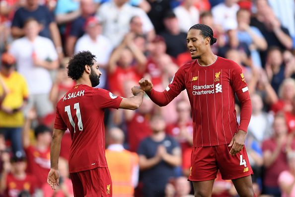 Virgil Van Dijk hopes to continue in the same vein
