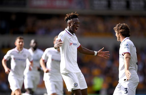 Tammy Abraham was amongst the goals once again as Chelsea beat Wolves
