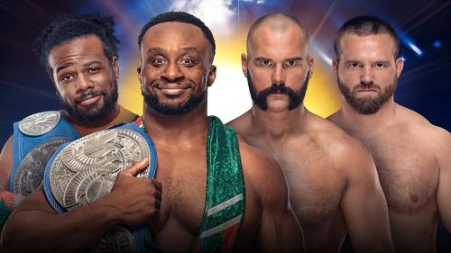 WWE SmackDown Tag Team Championships: New Day (c) vs The Revival