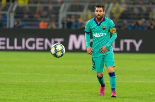 Lionel Messi is Barcelona's and La Liga's all-time top-scorer