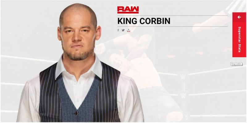 The new and improved, King Corbin