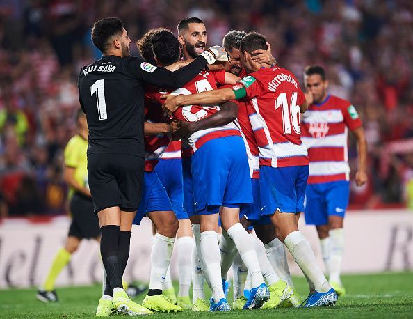 Granada are currently top of LaLiga