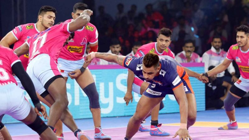 Maninder Singh pulled off his career-best performance against Jaipur Pink Panthers