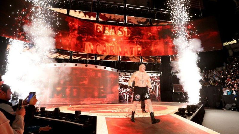 WWE रॉ और स्मैकडाउन में जल्द पायरो का हो सकता है इस्तेमाल