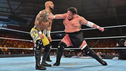 Joe and Ricochet battled over the US Championship before it was won by Styles.