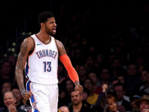 Paul George left the Oklahoma City Thunder for the LA Clippers