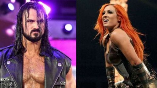 Drew McIntyre and Becky Lynch