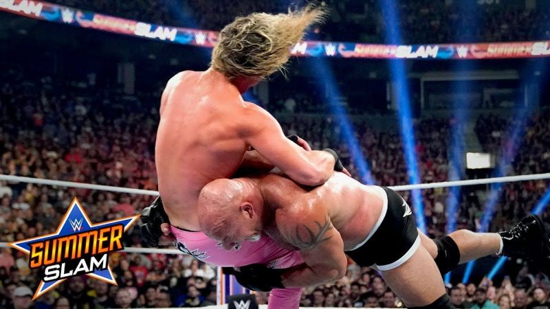 Bill Goldberg vs Dolph Ziggler