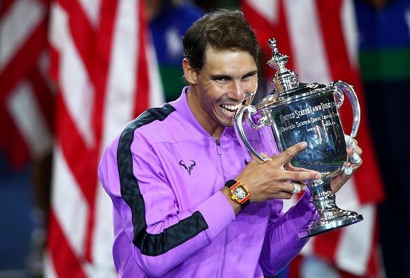 Nadal celebrates his 4th US Open title