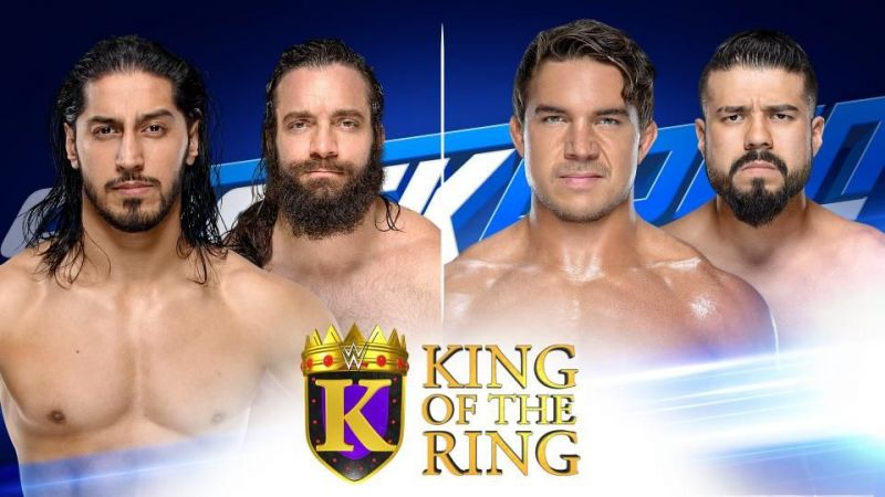 Who will progress into semifinals of the KOTR tournament?