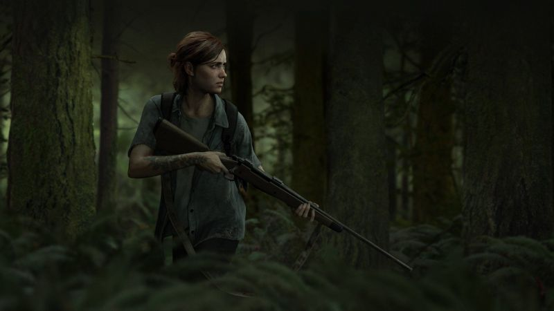 A still from The Last of Us Part 2