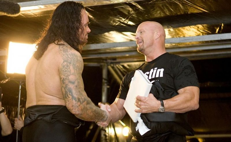 The Undertaker and Austin