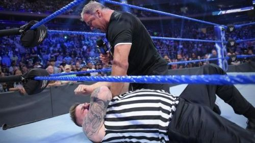Kevin Owens was fired on SmackDown Live