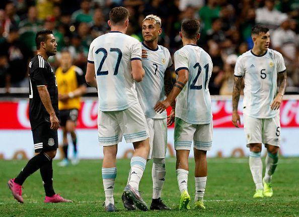 Argentina beat Mexico 4-0