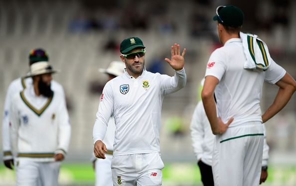 Faf du Plessis lost his limited-overs captaincy but he will continue as the captain in Test matches
