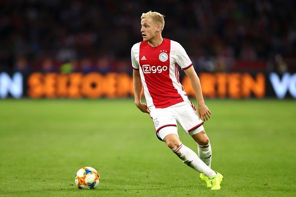 Donny Van de Beek has been missing from action since their qualifier against APOEL