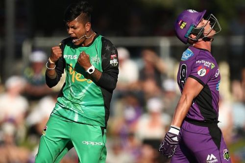 Sandeep Lamichhane impressed while playing for the Melbourne Stars in the BBL earlier this year