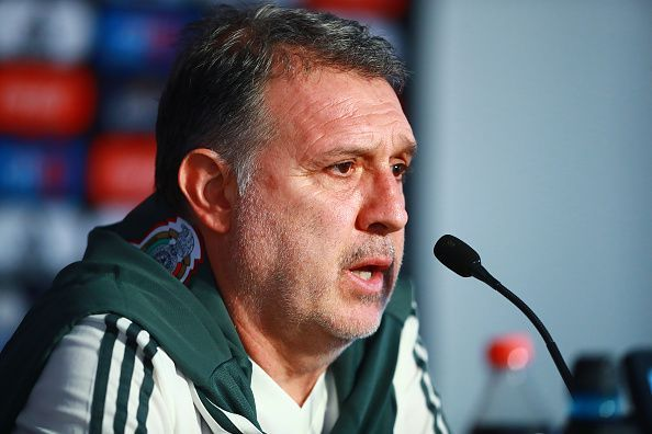 Gerardo Martino lost his first game as Mexico manager