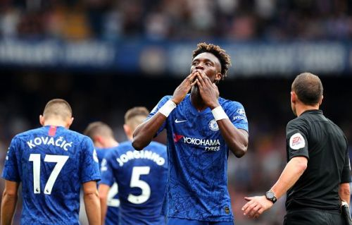 Abraham is Chelsea's top scorer with 4 goals to his name