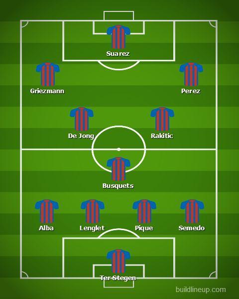 Barcelona vs Valencia- Barcelona