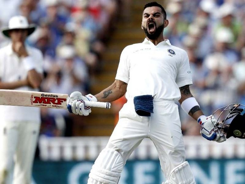 Kohli bounced back like a champion in the 2018 England tour and tamed the English bowling attack