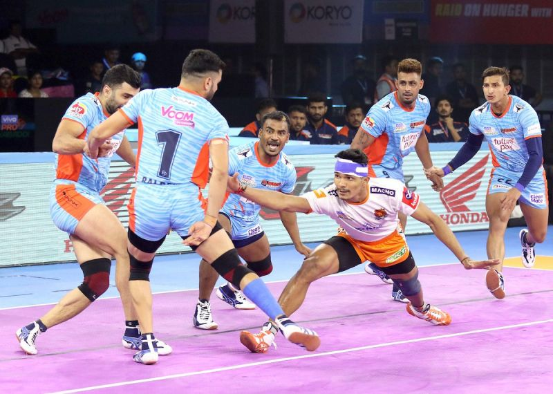 Bengal Warriors picked up their first win at home