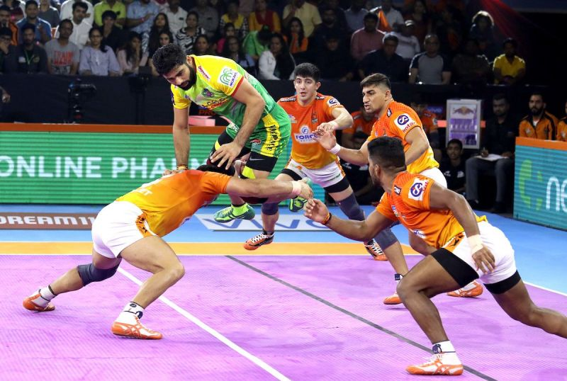 Pardeep Narwal was in fine form against Pune