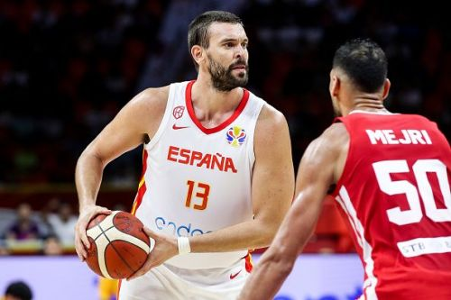 Marc Gasol performed well during Spain's unconvincing win over Iran