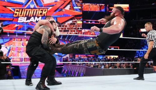 Braun Strowman stole the show at SummerSlam, but not the Universal Title
