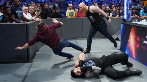 The main event segment of SmackDown was an interesting one