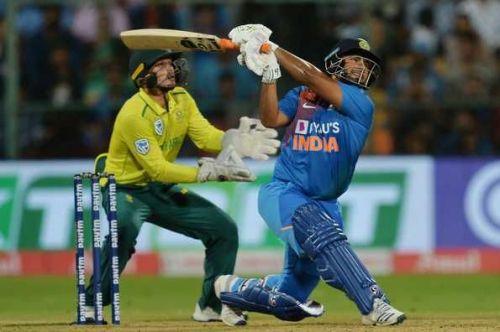 दक्षिण अफ्रीका के खिलाफ तीसरे टी20 मैच में ऋषभ पंत