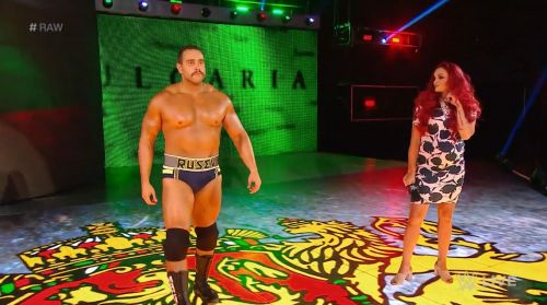 Rusev and Maria