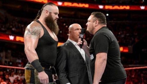 Both Samoa Joe and Braun Strowman are yet to win their first world title