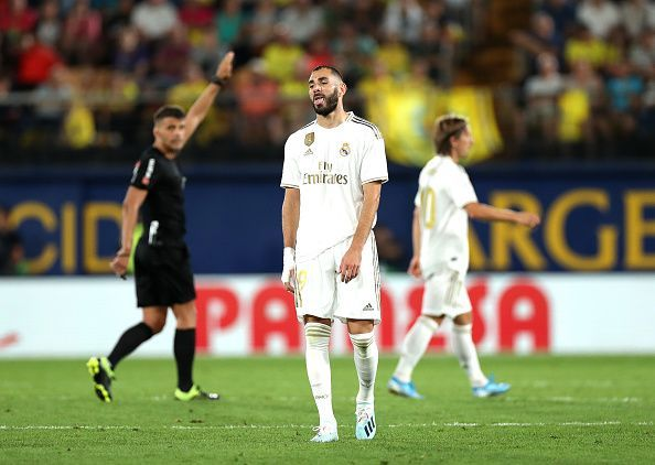 Real Madrid are now four points behind league leaders Atletico Madrid